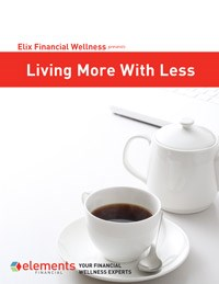 Living More with Less guide cover