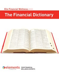 The Financial Dictionary guide cover