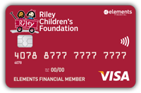 Riley Children's Foundation Visa