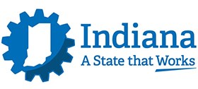 logo for State of Indiana