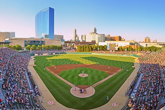 Indianapolis Indians at Victory Field