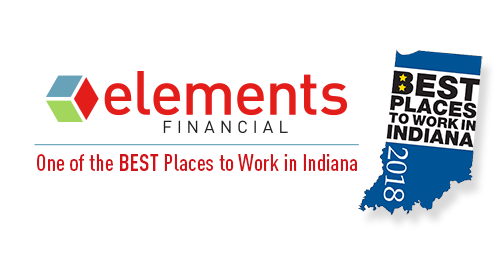 Elements Financial is one of the Best Places to Work in Indiana in 2018.