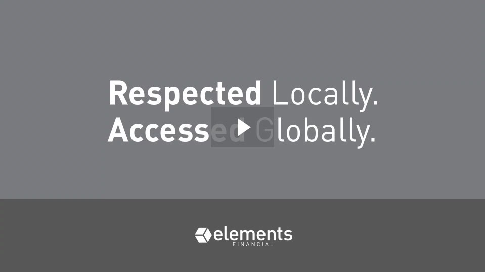 Respected Locally. Accessed Globally.