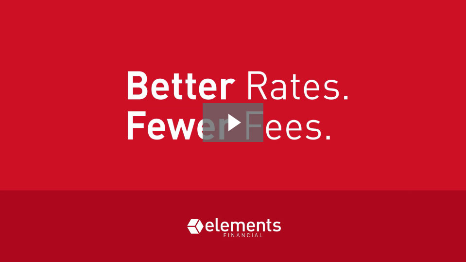 Better Rates. Fewer Fees.
